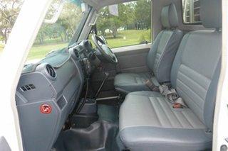 2011 Toyota Landcruiser VDJ79R MY10 GX White 5 Speed Manual Cab Chassis