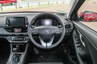 2021 Hyundai i30 PD.V4 MY22 Active Fiery Red 6 Speed Sports Automatic Hatchback