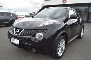 2014 Nissan Juke F15 MY14 Ti-S AWD Black 1 Speed Constant Variable Hatchback.