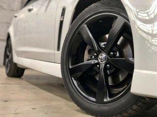 2016 Holden Commodore VF II MY16 SV6 White 6 Speed Sports Automatic Sedan