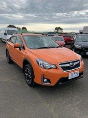 2016 Subaru XV G4X MY17 2.0i Lineartronic AWD Orange 6 Speed Constant Variable Wagon.
