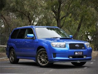 2006 Subaru Forester SG5 Cross Sport Blue 4 Speed Automatic Wagon.