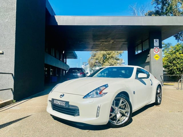 Used Nissan 370Z Z34 MY15 Liverpool, 2016 Nissan 370Z Z34 MY15 White 7 Speed Sports Automatic Coupe