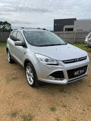 2013 Ford Kuga TF Titanium AWD Silver 6 Speed Sports Automatic Wagon.