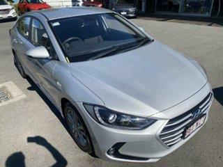 2016 Hyundai Elantra AD MY17 Active Platinum Silver 6 Speed Sports Automatic Sedan.