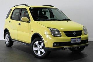 2004 Holden Cruze YG 2 Yellow 4 Speed Automatic Wagon.