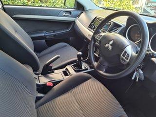 2013 Mitsubishi Lancer CJ MY13 ES Silver 5 Speed Manual Sedan
