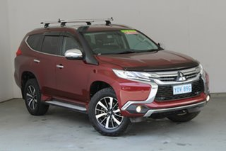 2016 Mitsubishi Pajero Sport QE MY16 Exceed Red 8 Speed Sports Automatic Wagon.