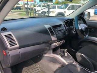 2007 Mitsubishi Outlander ZG XLS Silver 6 Speed Constant Variable Wagon