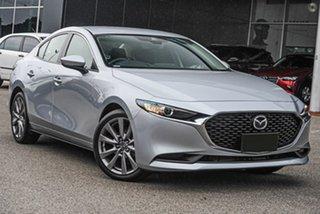 2021 Mazda 3 BP2S7A G20 SKYACTIV-Drive Evolve Silver 6 Speed Sports Automatic Sedan.
