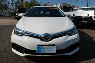 2018 Toyota Corolla ZRE182R S-CVT White 6 Speed Constant Variable Hatchback.