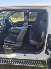 2015 Ford F150 (No Series) Lariat White Automatic Utility