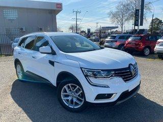 2019 Renault Koleos HZG Zen X-tronic White 1 Speed Constant Variable Wagon.