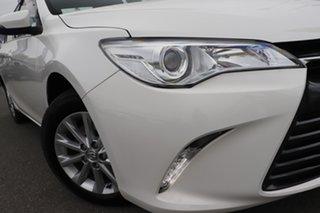 2017 Toyota Camry ASV50R Altise Diamond White/matching 6 Speed Sports Automatic Sedan.