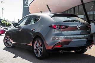 2021 Mazda 3 BP2H76 G20 SKYACTIV-MT Evolve Grey 6 Speed Manual Hatchback.