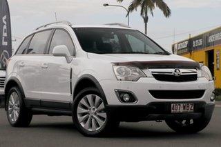 2015 Holden Captiva CG MY15 5 LT Summit White 6 Speed Sports Automatic Wagon.