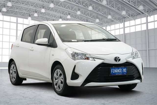 Used Toyota Yaris NCP130R Ascent Victoria Park, 2018 Toyota Yaris NCP130R Ascent White 4 Speed Automatic Hatchback