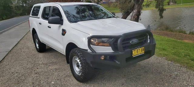 Used Ford Ranger PX MkIII 2019.00MY XL Wodonga, 2019 Ford Ranger PX MkIII 2019.00MY XL White 6 Speed Sports Automatic Double Cab Pick Up