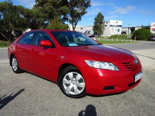 2008 Toyota Camry ACV40R 07 Upgrade Altise Red 5 Speed Automatic Sedan.