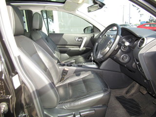2013 Nissan Dualis J10W Series 3 MY12 Ti Hatch X-tronic 2WD Black 6 Speed Constant Variable