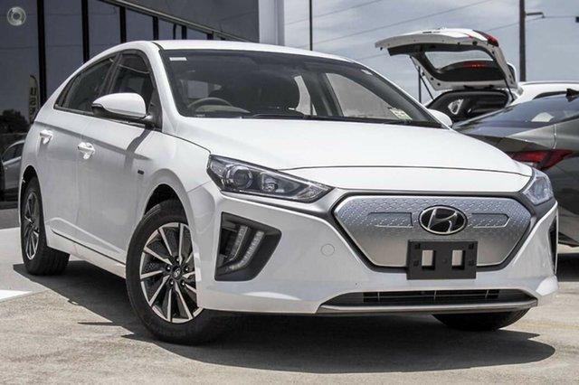 New Hyundai Ioniq AE.V4 MY22 electric Elite Nailsworth, 2021 Hyundai Ioniq AE.V4 MY22 electric Elite Polar White 1 Speed Reduction Gear Fastback