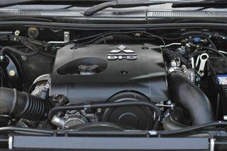 2013 Mitsubishi Triton MN MY13 GLX-R Double Cab Black 5 Speed Sports Automatic Utility