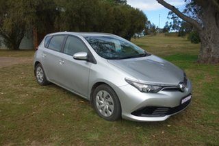 2018 Toyota Corolla ZRE182R Ascent S-CVT Silver 7 Speed Constant Variable Hatchback.