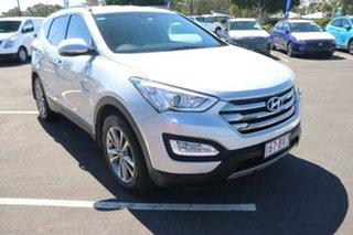 2015 Hyundai Santa Fe DM2 MY15 Elite Silver 6 Speed Sports Automatic Wagon.