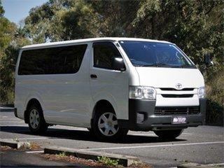 2016 Toyota HiAce KDH201V DX White 4 Speed Automatic Van.