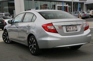 2015 Honda Civic 9th Gen Ser II MY15 Sport Silver 5 Speed Sports Automatic Sedan.