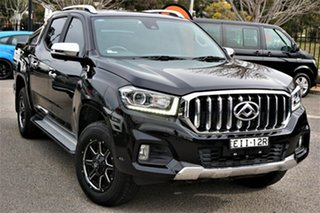 2020 LDV T60 SK8C Luxe Black 6 Speed Sports Automatic Utility.
