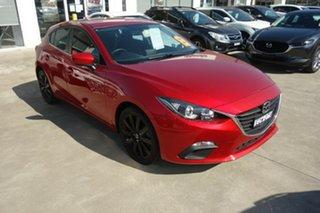 2013 Mazda 3 BM5478 Maxx SKYACTIV-Drive Red 6 Speed Sports Automatic Hatchback.