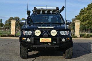 2013 Mitsubishi Triton MN MY13 GLX-R Double Cab Black 5 Speed Sports Automatic Utility.