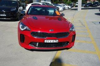 2018 Kia Stinger CK MY18 330S Fastback Red 8 Speed Sports Automatic Sedan.