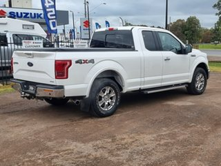 2015 Ford F150 (No Series) Lariat White Automatic Utility.