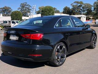 2014 Audi A3 8V MY15 Ambition S Tronic Black 7 Speed Sports Automatic Dual Clutch Sedan