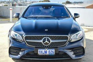 2017 Mercedes-Benz E-Class C238 808+058MY E400 9G-Tronic PLUS 4MATIC Blue 9 Speed Sports Automatic