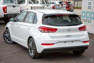 2021 Hyundai i30 PD.V4 MY22 Active Polar White 6 Speed Sports Automatic Hatchback