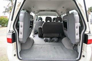 2006 Mitsubishi Delica PD6W Spacegear Chamonix White 4 Speed Automatic Van Wagon