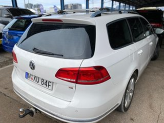 2010 Volkswagen Passat Type 3C MY10.5 118TSI DSG White 7 Speed Sports Automatic Dual Clutch Wagon