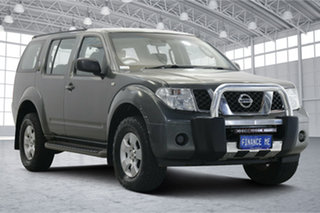 2009 Nissan Pathfinder R51 MY08 ST Grey 5 Speed Sports Automatic Wagon.