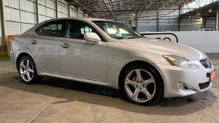 2008 Lexus IS GSE20R IS250 Prestige Silver 6 Speed Sports Automatic Sedan.