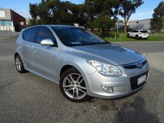 2008 Hyundai i30 FD SR Silver 4 Speed Automatic Hatchback.