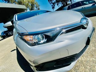 2016 Toyota Corolla ZRE182R Ascent S-CVT Silver, Chrome 7 Speed Constant Variable Hatchback