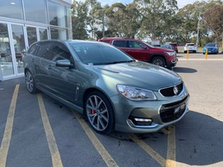 2016 Holden Commodore VF II MY16 SS V Sportwagon Redline Grey 6 Speed Sports Automatic Wagon.