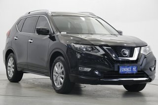 2017 Nissan X-Trail T32 ST-L X-tronic 2WD Black 7 Speed Constant Variable Wagon