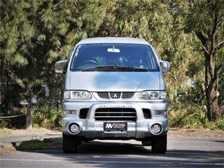 2005 Mitsubishi Delica PD6W Spacegear Silver 4 Speed Automatic Van Wagon.