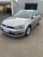 2014 Volkswagen Golf VII MY15 90TSI DSG Tungsten Silver 7 Speed Sports Automatic Dual Clutch.