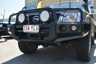 2012 Nissan Patrol GU VIII ST (4x4) Gold 4 Speed Automatic Wagon