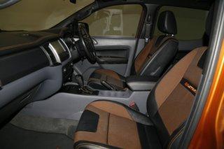 2015 Ford Ranger PX MkII Wildtrak Double Cab Pride Orange 6 Speed Sports Automatic Utility
